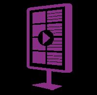 Cannabis POS - TechPOS icon digital signage