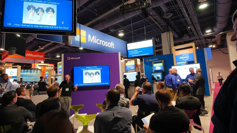 Microsoft POS Trade Show